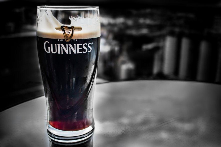 Sloviti Guinness prihaja iz Irske.