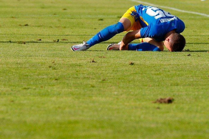 Celjani (na fotografiji branilec Denis Marandici), sicer branilci naslova, so vknjižili že 17. poraz v sezoni.