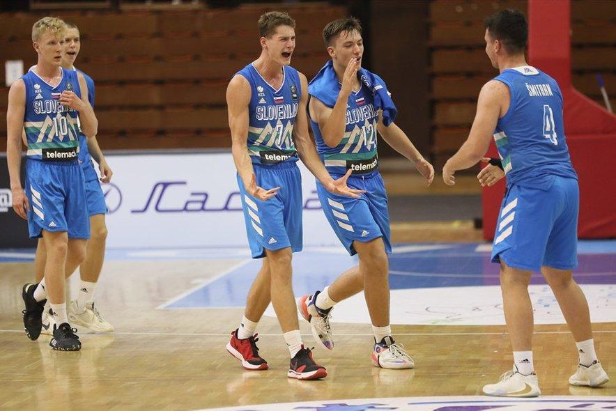 Slovenski košarkarji do 16 let so blesteli minulo poletje.