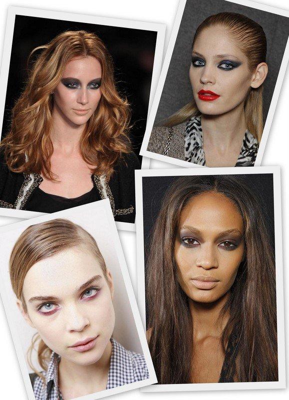Namesto ličenja po celotni veki za dnevni make up izberite le področje pod očmi.