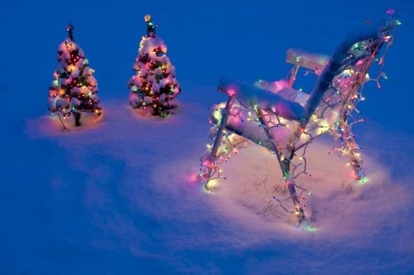 Lučke na božičnem drevescu in na vrtu pričarajo prav posebno praznično vzdušje, vendar pa je pri njih potrebno nekaj pozornosti, da bi se izognili nesrečam.