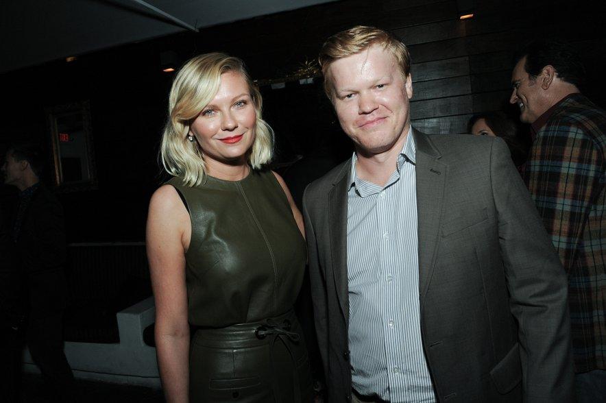 Kirsten Dunst in Jesse Plemons sta se spoznala na snemanju serije Fargo.