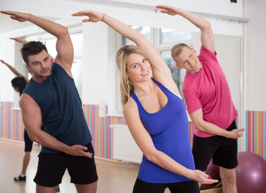 Redna telesna aktivnost bo pomagala zmanjšati bolečine išiasa.