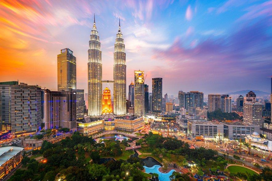 Vibratni Kuala Lumpur, prestolnica Malezije