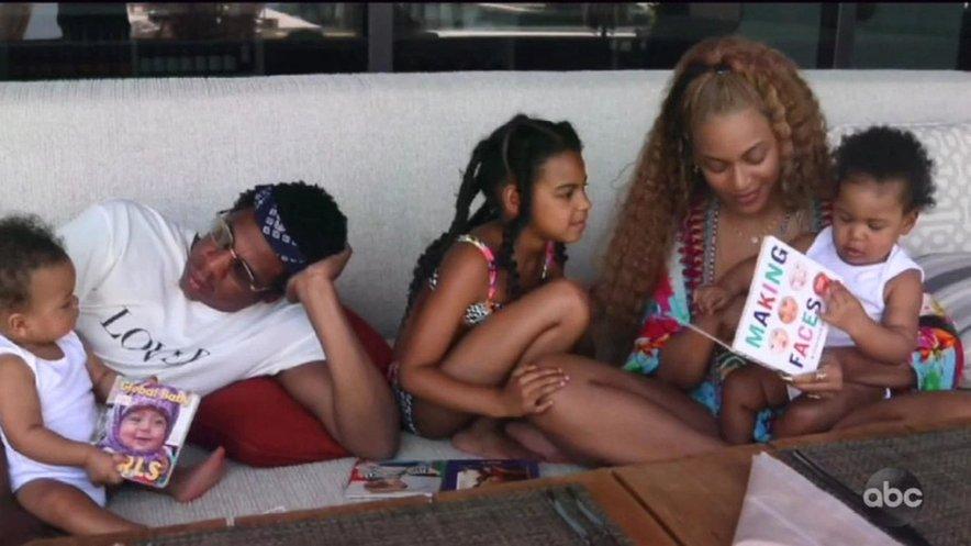Beyonce želi, da so njeni otroci vzor drugim.