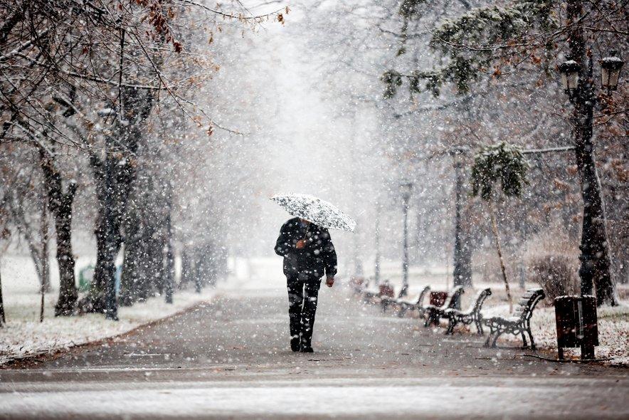 Na Gorenjskem bo petkovo jutro zimsko.