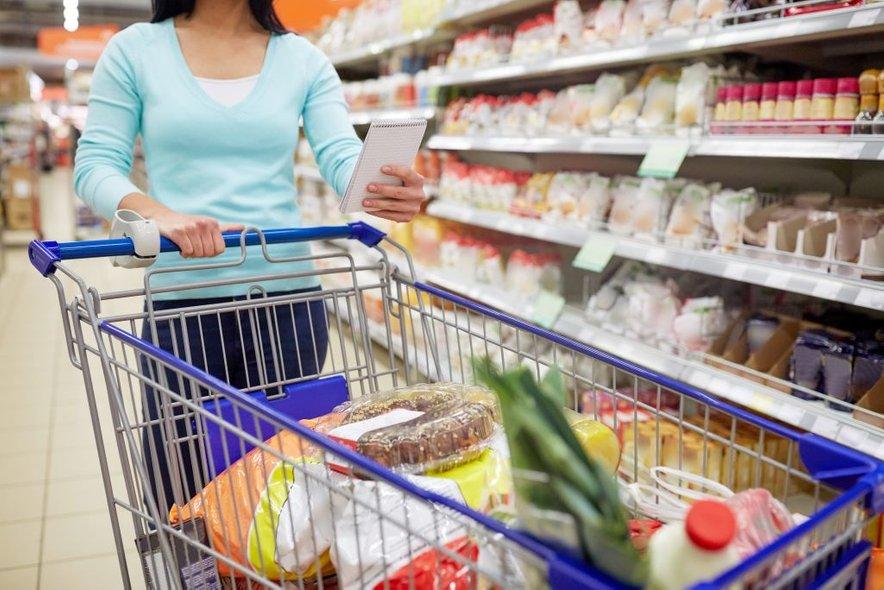 V trgovino se odpravite z nakupovalnim seznamom