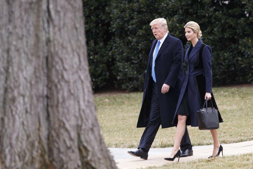 Donald Trump in Ivanka