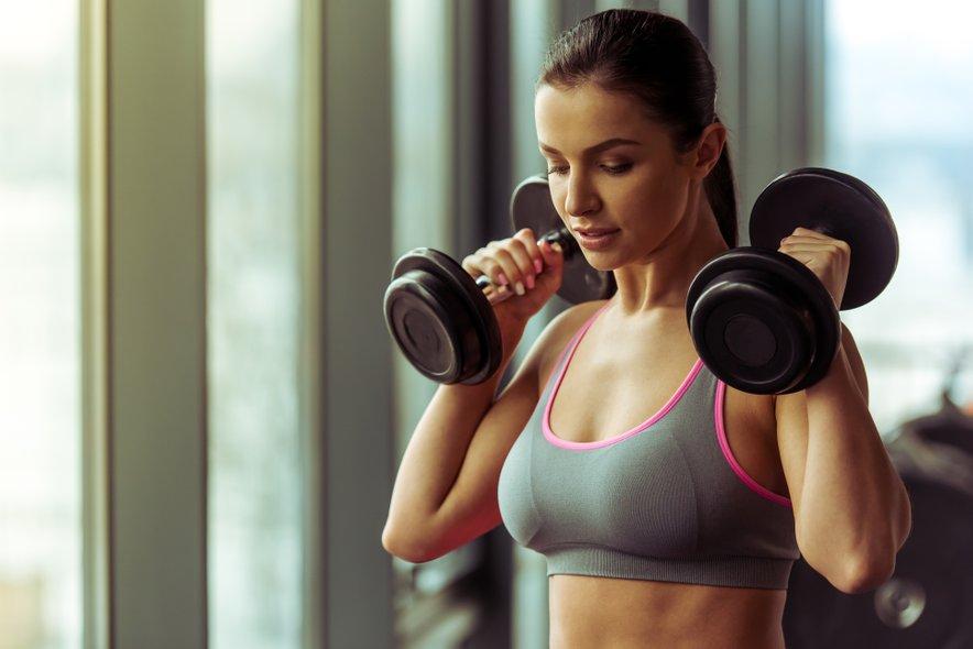 Seveda ni pomembna le pravilna vadba, ampak tudi prehrana.