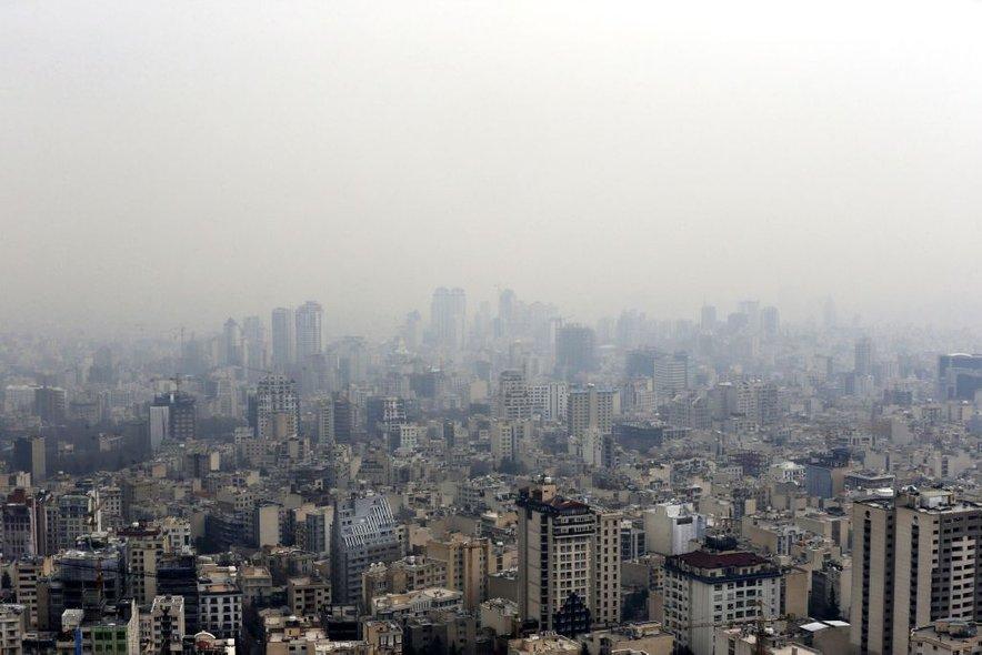 Iranska prestolnica Teheran.