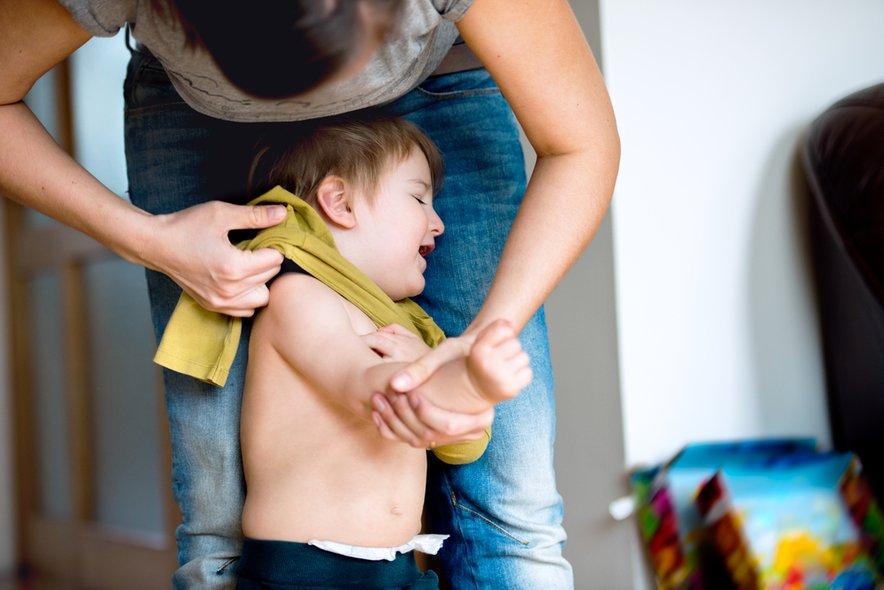 Otroci so najbolj neznosni, ko se najbolj slabo počutijo.