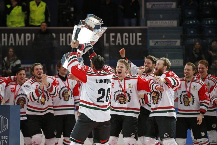 Tudi hokejisti švedske Frolunde so med moštvi, ki so osvojili naslov v hokejski Ligi prvakov.