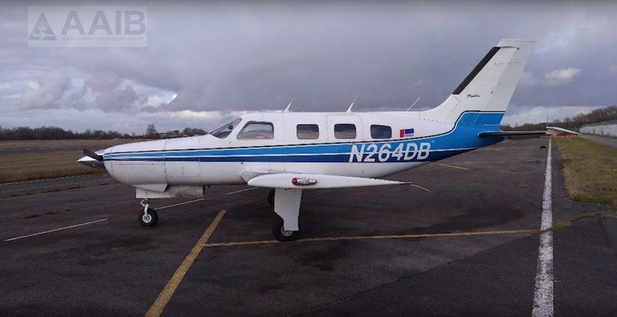 Letalo, s katerim sta letela Emiliano Sala in David Ibbotson.