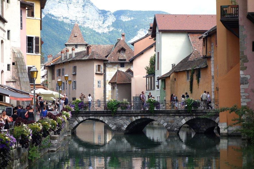 Romantični Annecy.