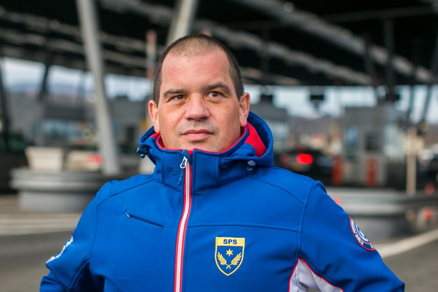 Kristjan Mlekuš, predsednik Sindikata policistov Slovenije