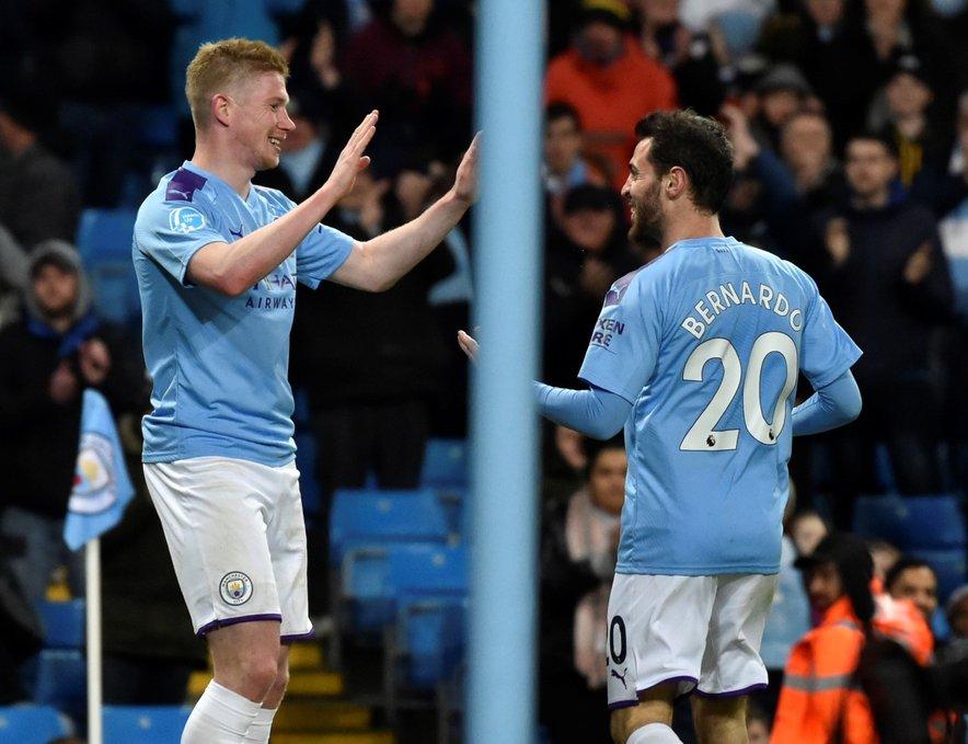 Bodo nogometaši Manchester Cityja v naslednjih dveh sezonah ostali brez nastopov v najelitnejšem klubskem tekmovanju na svetu?