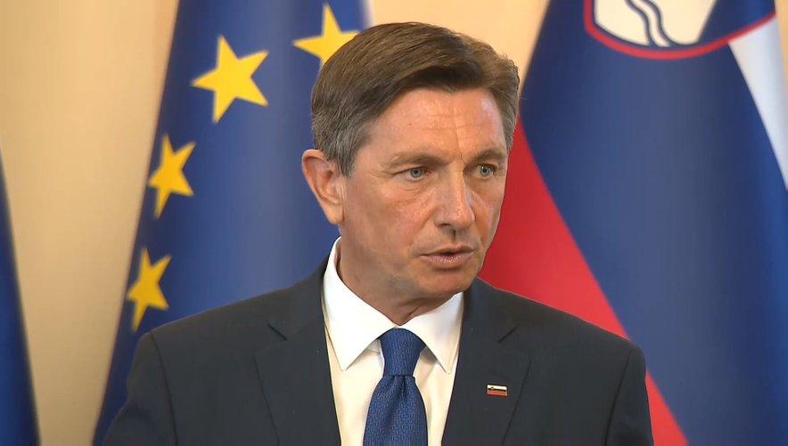 Borut Pahor meni, da gredo ukrepi za zajezitev virusa v pravo smer.