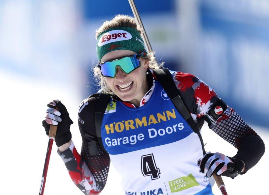Lisa Theresa Hauser je zmagala na SP.