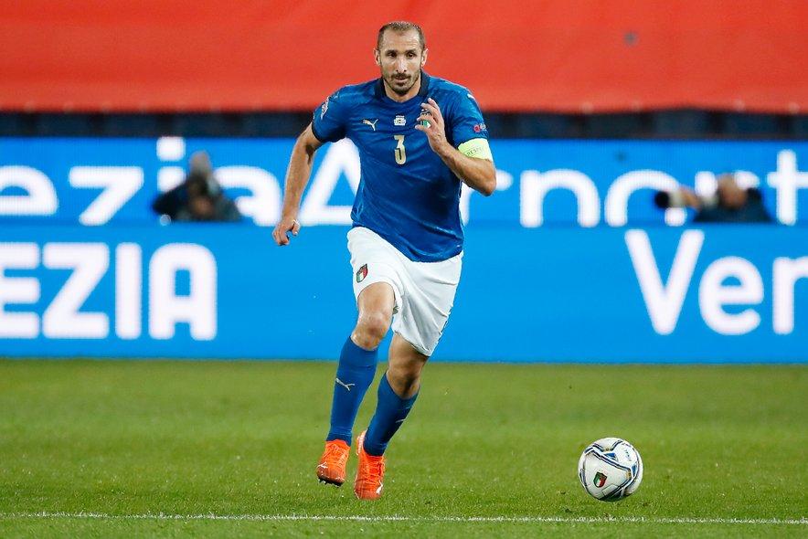 Kapetan italijanske nogometne izbrane vrste Giorgio Chiellini spoštuje angleške nogometaše.