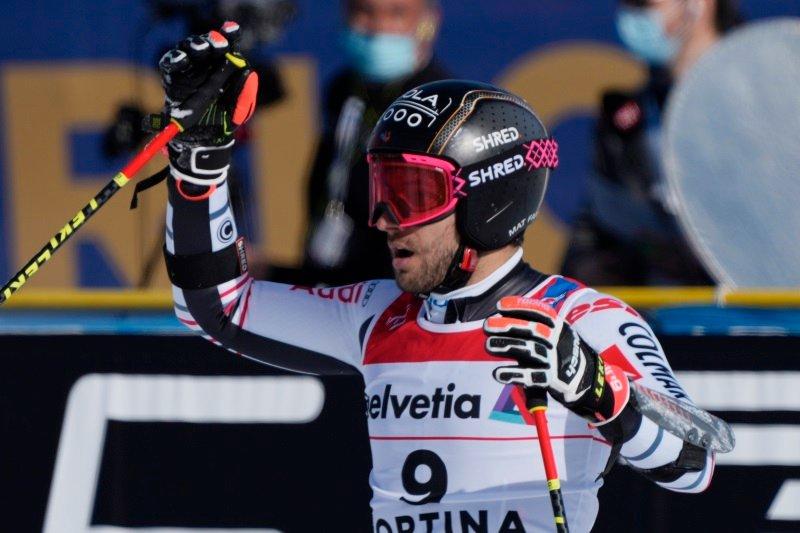 Mathieu Faivre je z izjemno drugo vožnjo osvojil naslov veleslalomskega svetovnega prvaka.