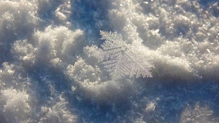 Srež oslabi snežno odejo.