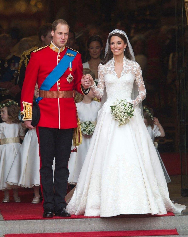 Kate in William sta se poročila 29. aprila leta 2011 v Westminstrski opatiji, dogodek pa je spremljala več kot milijarda ljudi s celega sveta.