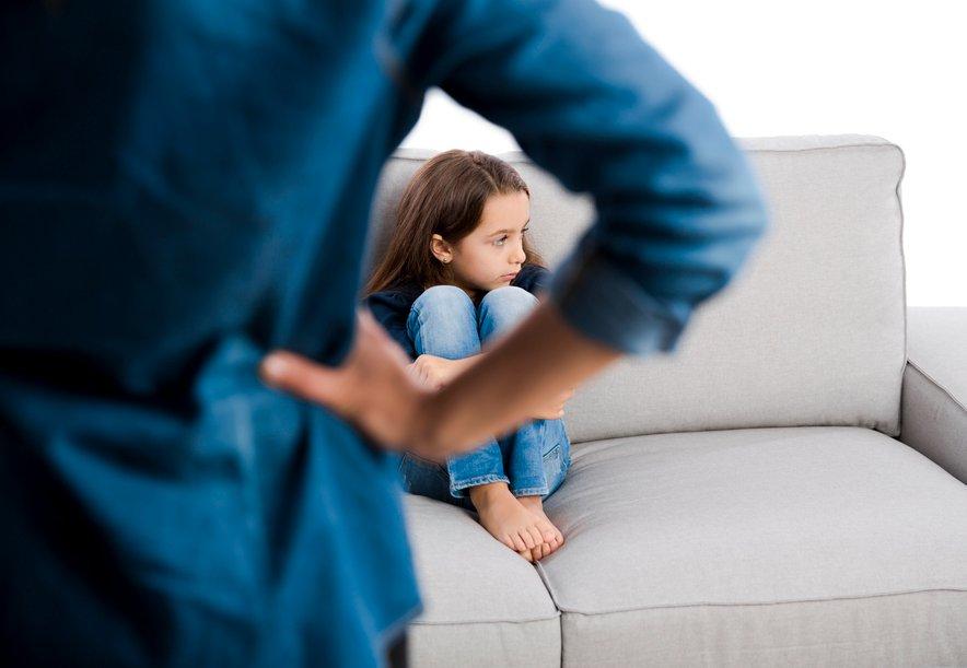 Kakšna je vaša reakcija, če otroku uide napremerna beseda?