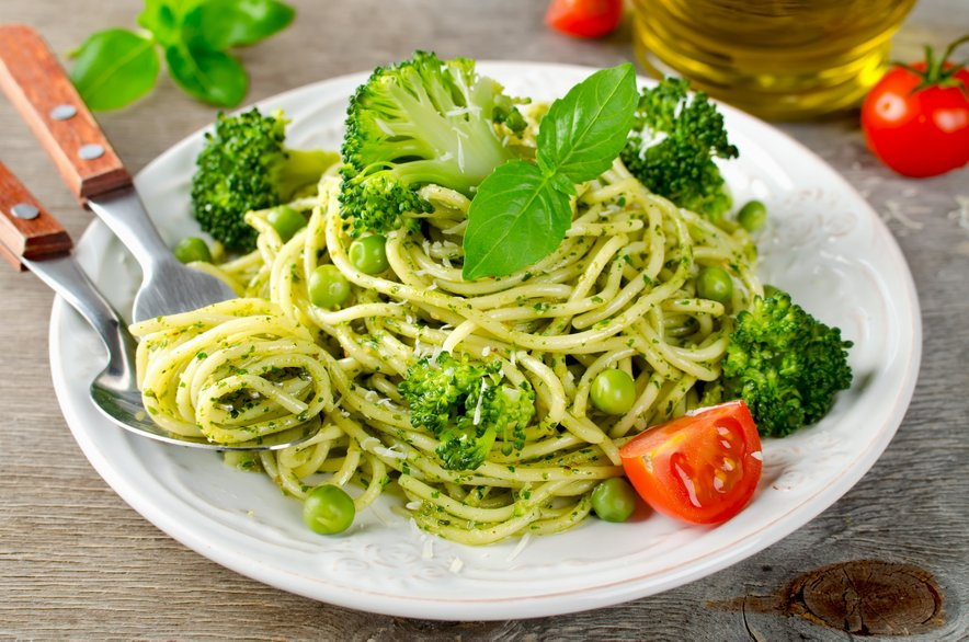 Z brokolijem in grahom lahko pripravite testenine.