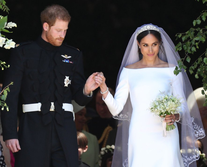 Meghan Markle in princ Harry sta se poročila 19. maja 2018 na gradu Windsor.