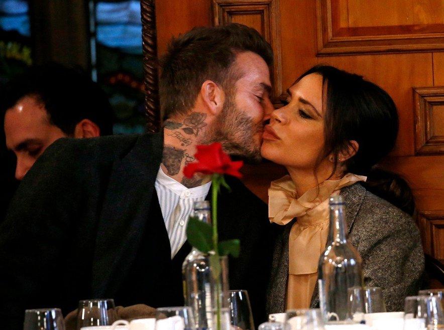 David in Victoria si v javnosti le redko izkažeta pozornost.