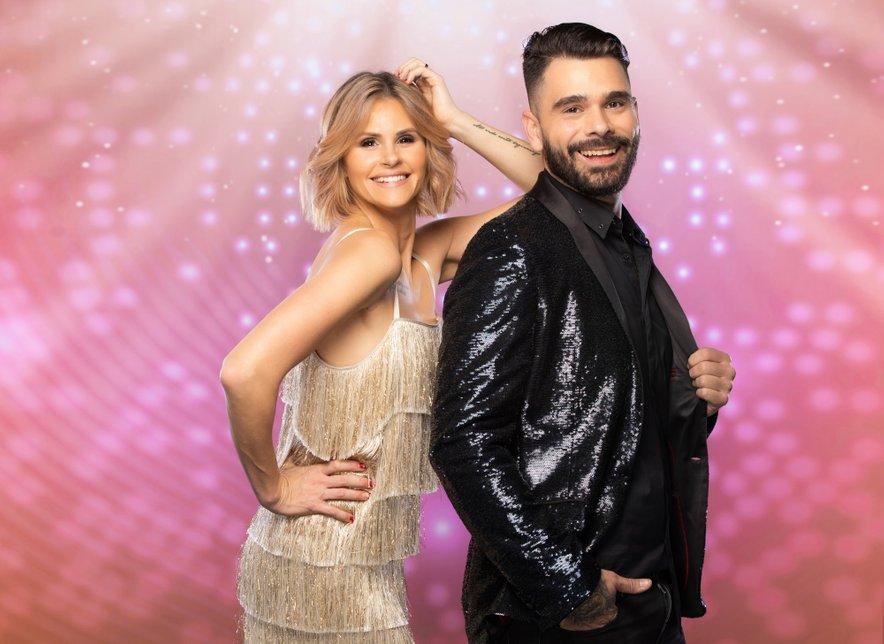 Teja in Jani Jugovic, zvezdniški par, ki se bo pomeril na plesnem parketu.