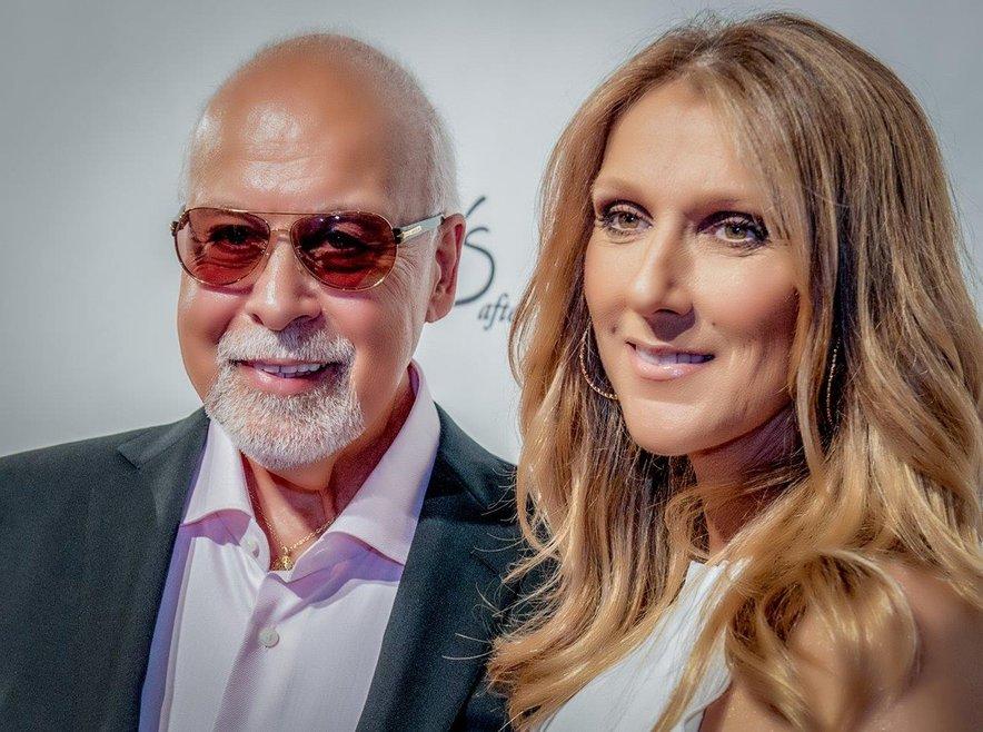 Celine Dion s pokojnim možem Renejem.
