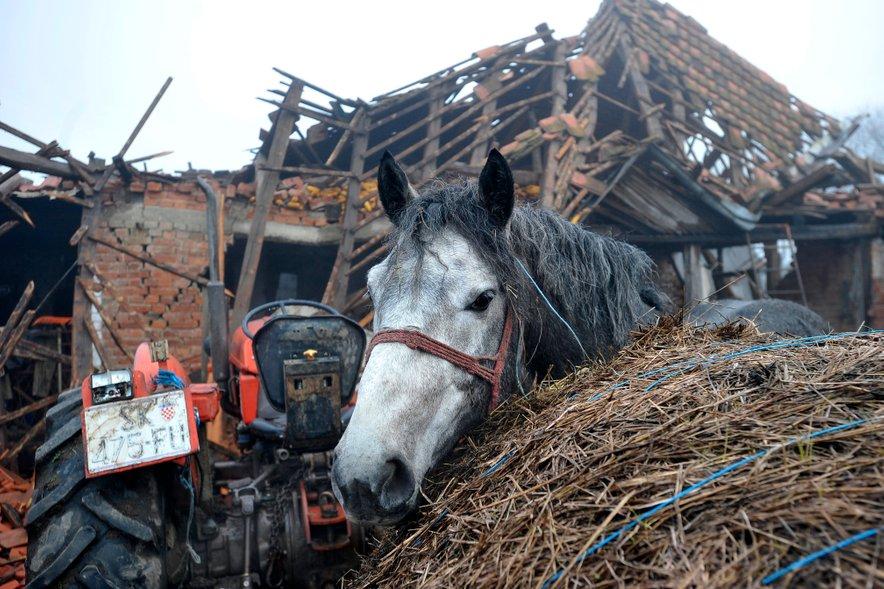 Hrvaška po potresu