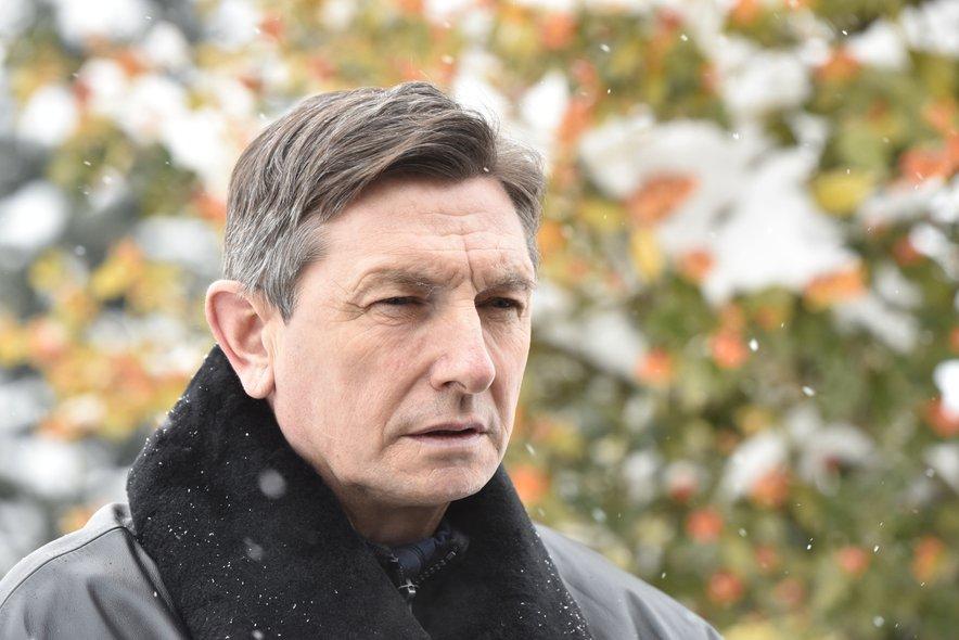 Predsednik republike Borut Pahor, ki upa, da bomo letošnjo 30. obletnico nastanka slovenske države praznovali enotno.