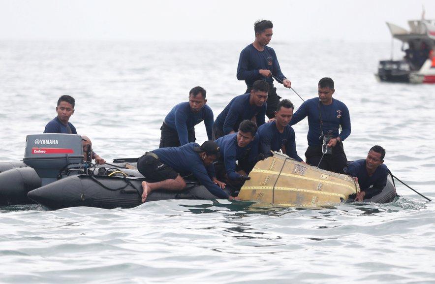 Razbitine indonezijskega letala