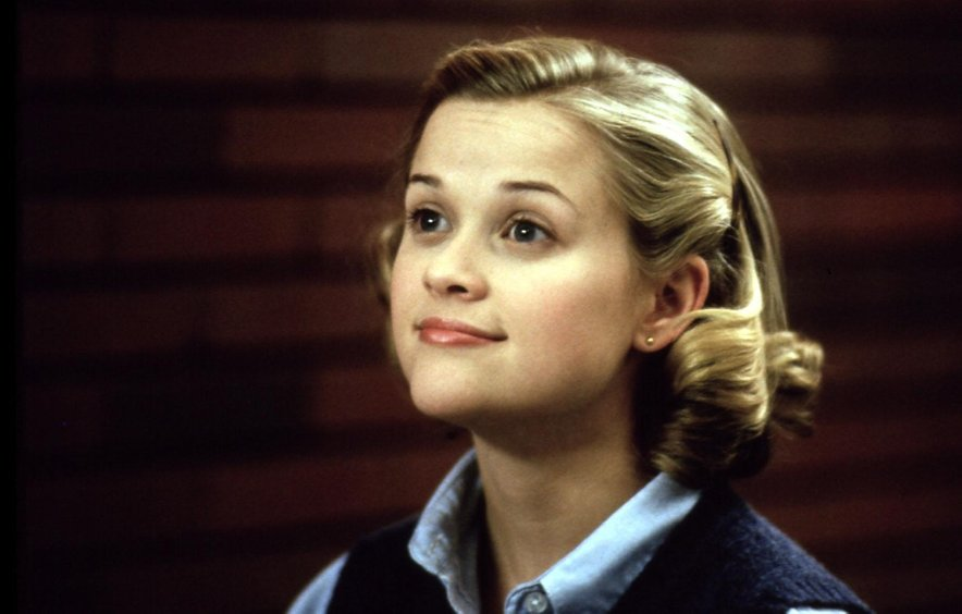 Reese Witherspoon v filmu Volitve.