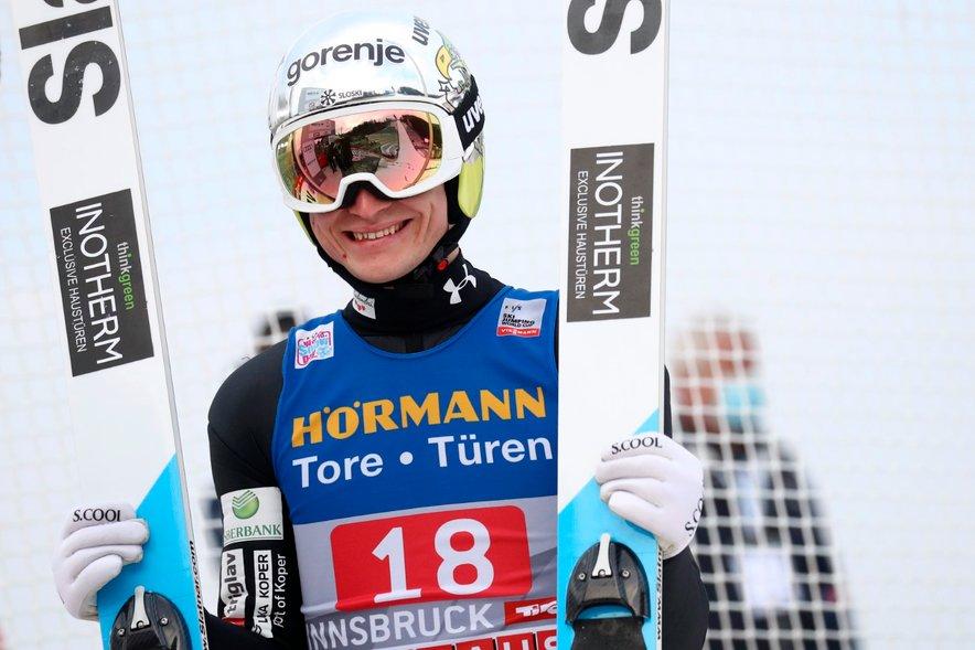 Anže Lanišek je bil po prvi seriji najboljši Slovenec.