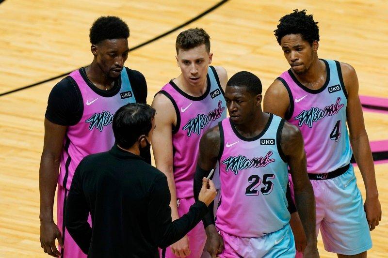 Košarkarji Miamija so trenutno na desetem mestu vzhodne konference.