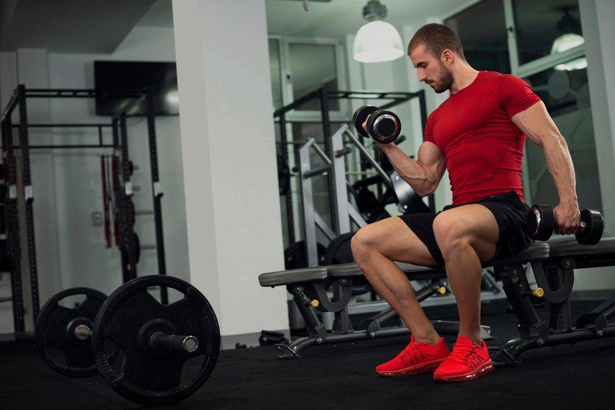Zapomnite pa si, da bo tehtnica na začetku najverjetneje kazala več, saj so mišice težje od maščob, zato ne obupajte.