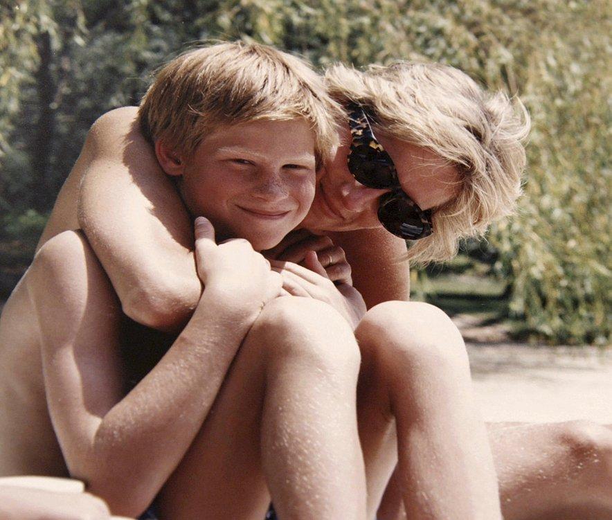 Diana in princ Harry