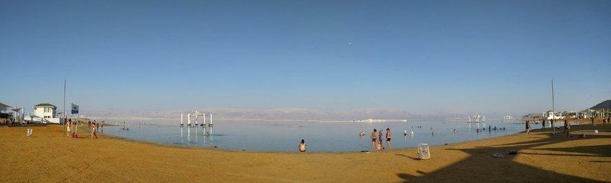 Občutek lebdenja v Mrtvem morju je resnično neverjeten.