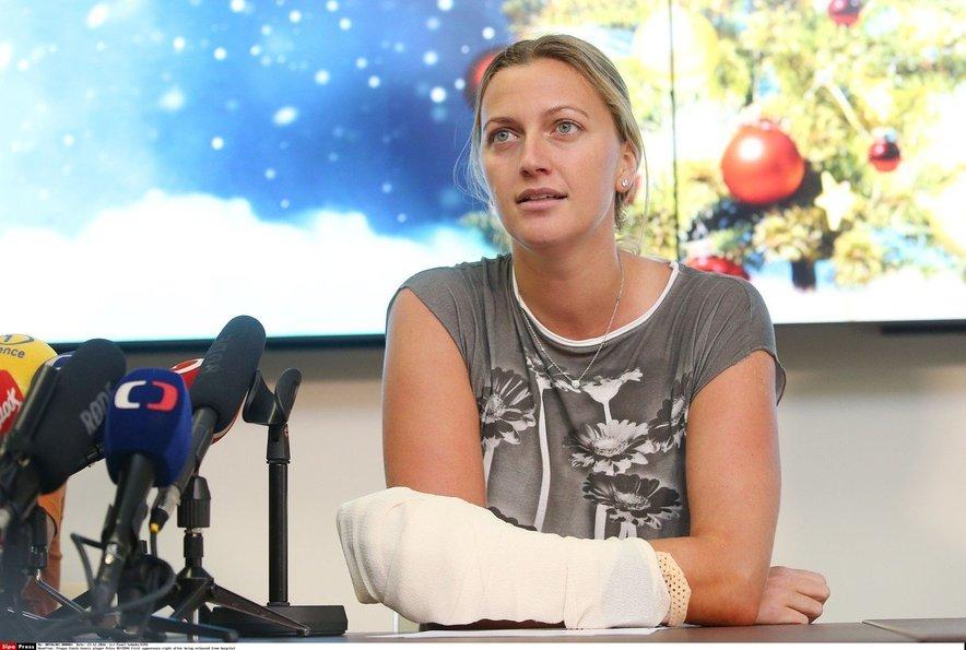 Tri dni po napadu je na tiskovni konferenci napovedala, da bo storila vse, kar je v njeni moči, da se vrne na teren.