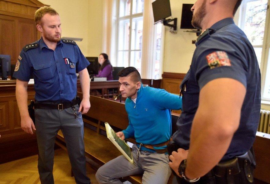 33-letni napadalec Radim Zondra je bil marca obsojen na osem let zaporne kazni