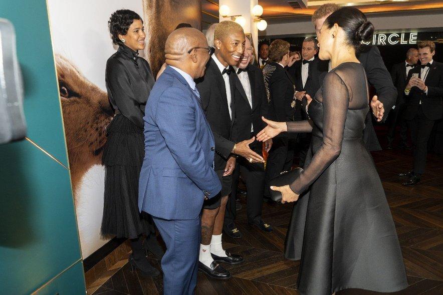 Pharrell Williams v družbi Meghan Markle