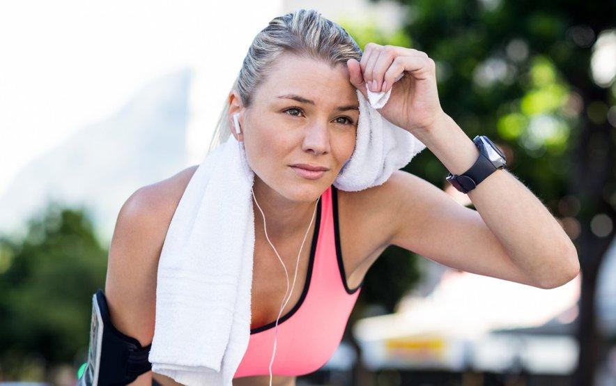 Vadba pri visokih temperaturah ima lahko tudi negativne posledice, zato se rekreirajte 'z glavo'.