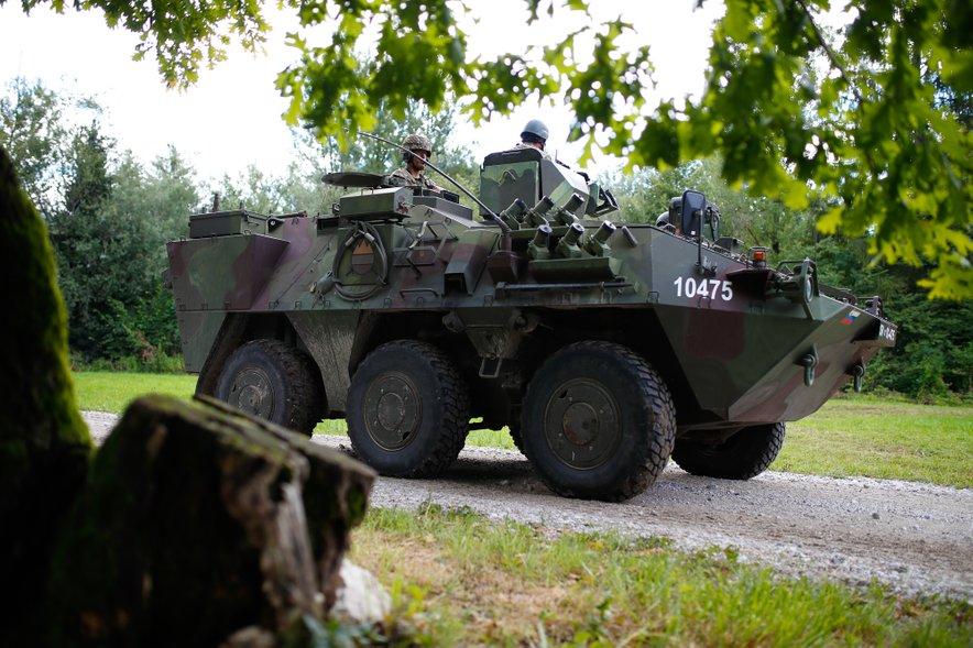 Večji del investicije bo namenjem opremljanju srednje bataljonske skupine.