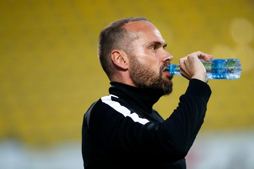 Trener Olimpije Dino Skender