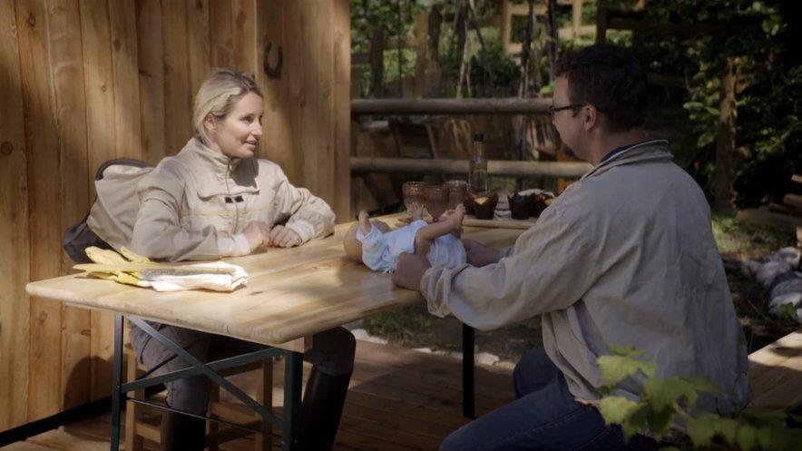 Tanja bo obiskala tudi junaka četrte sezone Damjana in izbranko Barbaro, ki bosta kmalu zibala.