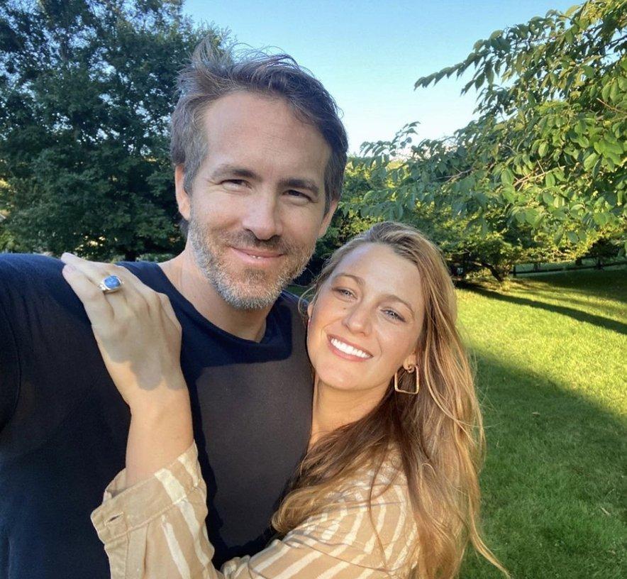 Blake in Ryan sta se spoznala na snemanju filma Zelena svetilka.