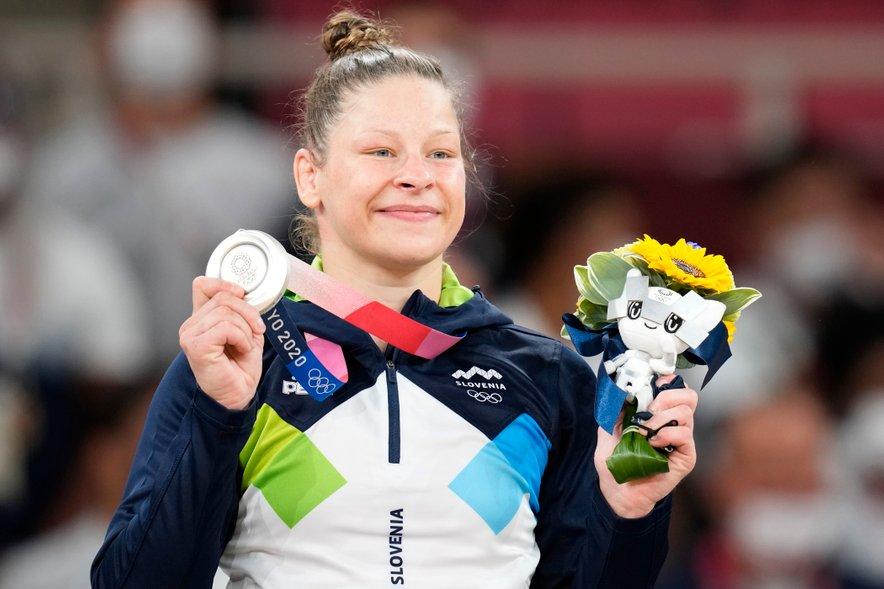 Olimpijska podprvakinja v judu Tina Trstenjak